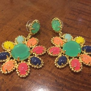 Kate Spade Amalfi Mosaic Chandelier Earrings